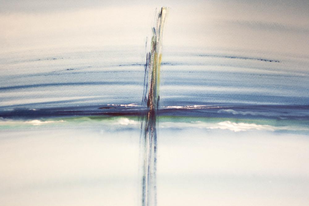 """""""I see the Sea"""", aquarel, 76x57 cm"""
