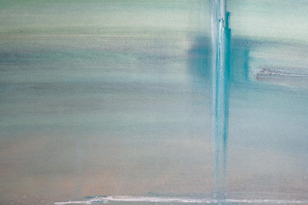 """""""Recht door Zee"""", aquarel 76x57 cm"""